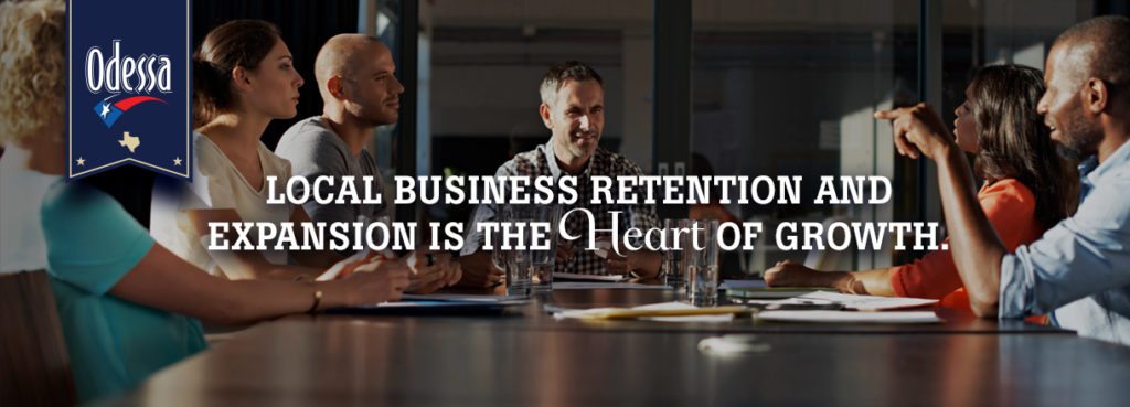 local business retention and expansion Odessa