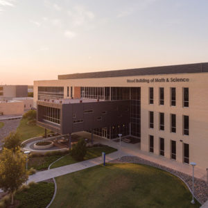 Odessa College Wood Building of Math and Science